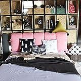 YIWANGO Nachtkissen Weiche Tasche Schlafsofa Rückenlehne/Doppelseitige Verwendung/Abnehmbare Wäsche/Multi-Size Optional,O-150 * 60cm