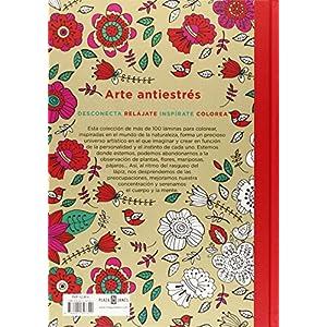 Arte Antiestres. 100 Jardines Para Color (OBRAS DIVERSAS)