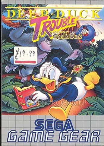 Deep duck trouble with Donald Duck - Game gear - PAL