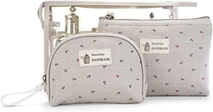 SPAHER Impermeabile Beauty Case da viaggio Borsetta da Viaggio Organizzatore Borsa da Toilette Portatrucchi make up Borsa Trucco di Caso Cosmetico Borsa Sacchetto Wash Bag borsa lavaggio borsa