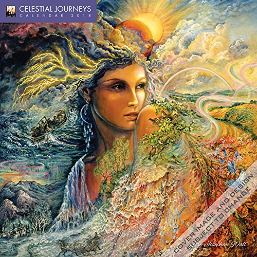 Preisvergleich Produktbild Celestial Journeys by Josephine Wall – Himmlische Reisen von Josephine Wall 2018: Original Flame Tree Publishing-Kalender [Kalender] (Wall-Kalender)