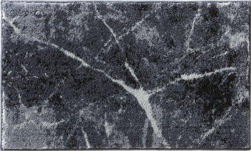 Erwin Müller Badematte grau Größe rund: 90 cm Ø