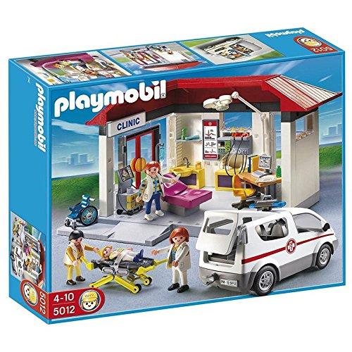 Playmobil - Clínica Vehículo Emergencia - 5012