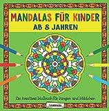 Mandalas für Kinder ab 8 Jahren: Ein kreatives Malbuch für