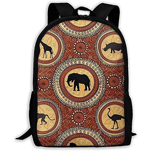 Cartella,studente zaini,borsa da viaggio,zaino di tela,zaino di lusso modello animali etnici africani,zaino casual per laptop,borse per libri a tracolla per scuola