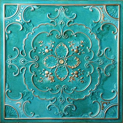 pvc-placas-de-techo-cian-dorado-en-relieve-decoracion-de-la-pared-paneles-pl19-paquete-de-10-piezas