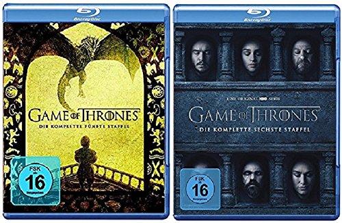 game of thrones 6 staffel Blu-ray Set * Game of Thrones - Season / Staffel 5+6