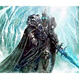 Plakat Poster World Of Warcraft Lichkönig Arthas(50cmx59cm)