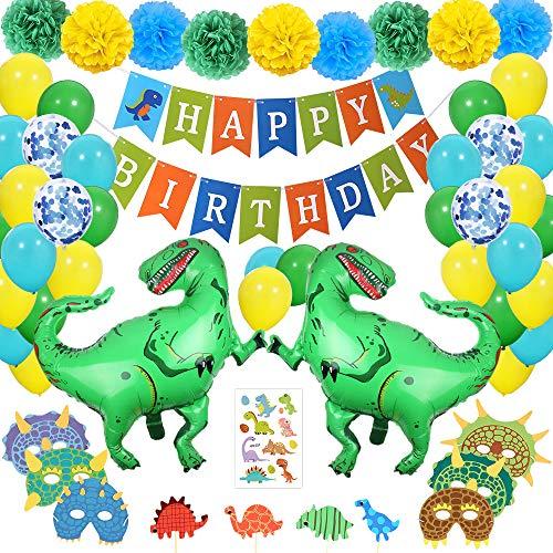 SPECOOL Decoraciones de Fiesta de Dinosaurio 3D - Dinosaurio de Estilo jurásico...