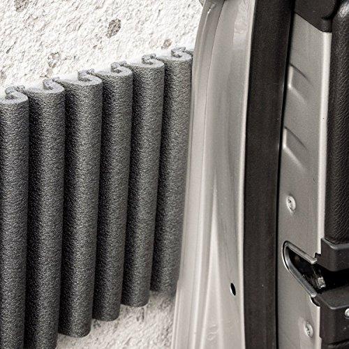 Selbst Klebende Schaumstoff-Schutzstreifen: Garagenwand schutz, Tuerschutz Auto, Kantenschutz. Mondaplen Wand Stoßfänger: Jedes Paket Enthält 2 Streifen ≈ 1.35 m x 17 cm. Test