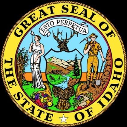 Aufkleber / Autoaufkleber / JDM Die Hart - Idaho ID State Seal Bumper Sticker 101mmx101mm