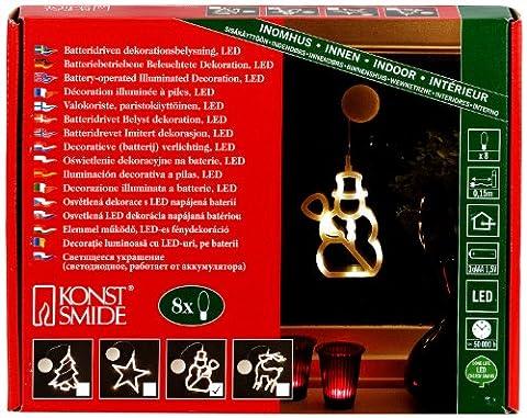 Konstsmide 1297-103 LED Fensterbild
