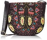 Antik Batik Damen Saporta Schultertaschen, Multicolore (Multico), 8x19x20 cm