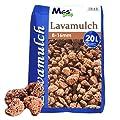 Lavamulch Lavasteine Lavagranulat Granulat Lava Steine Mulch 8-16 mm rotbraun von MGS SHOP auf Du und dein Garten