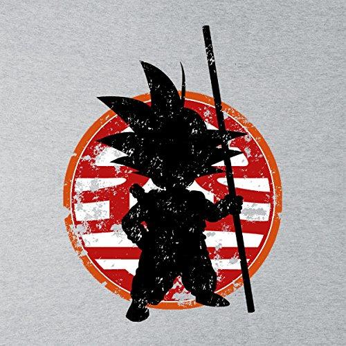 Train To The Goal Goku Dragon Ball Z Men's Vest Heather Grey
