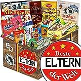 Beste Eltern der Welt | Schokoladen Paket | Geschenkset | Beste Eltern der Welt | Schokolade Korb | Danke Eltern Geschenk | mit Zetti, Viba, Halloren und mehr