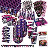 Monster High 2 Party Set XL 72-teilig für 6 Gäste Monsterparty Deko Partypaket