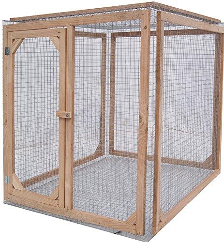 Enclos poule anti-prédateurs hauteur 120 cm made in france Taille 1 mètre