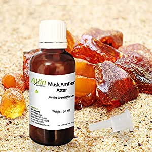 Allin Exporters Musk Amber Attar - 100% Pure , Natural & Undiluted - 30 ML