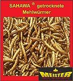 SAHAWA® _ Mehlwürmer getrocknet für Vögel, Nager, Reptilien, Schildkröten (3000 ml)