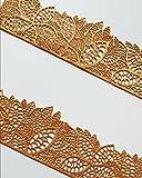 Commestibile pizzo decorativo Fiore foglia striscia Border, matrimonio, torte, cupcakes 37.5 cm x 5.5 cm Any Other Colour - Message on Checkout