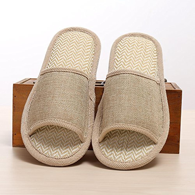Y-Hui biancheria pantofole, il lino naturale, Coloreeee puro non ricamato pantofole comode pantofole biancheria,39... | Nuovo mercato  | Sig/Sig Ra Scarpa