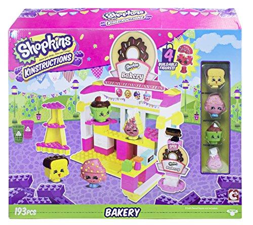 Shopkins Kinstructions Szenenpackung Bäckerei, Bausatz, mehrfarbig