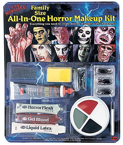 Zombie Horror Make Up Set (Flesh Up Make Zombie)