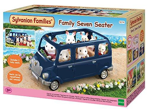 Sylvanian Families Family Seven Seater Mini muñecas y Accesorios, (Ep