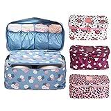 #7: New Multi Design Travel Organizer Underwear Bras Storage Bag Case Holder Pouch Cosmetic Bag Luggage-Luvina