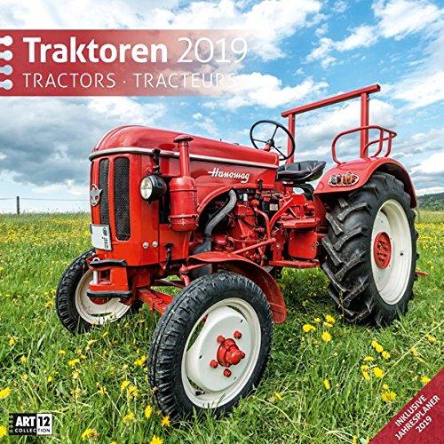 Traktoren 2019 Broschürenkalender par Ackermann Kunstverlag