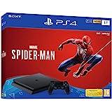 Sony PlayStation 4 Slim 1 To + Marvel's Spider-Man Édition Standard, Avec 1 manette sans fil DUALSHOCK 4 V2, Châssis F…