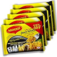 Maggi Mi-Goreng Fried Noodles, Pack of 5 (5 x 72g)