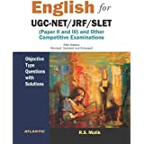English: For UGC‐NET/JRF/SLET: (Paper II and III) and Other Competitive Examinations - Objective Type Questions with Solution