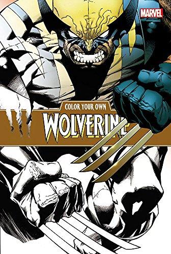 Color Your Own Wolverine por Joe Quesada
