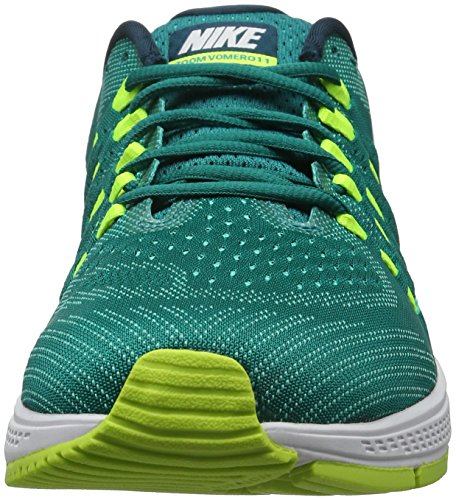 Nike Air Zoom Vomero 11, Chaussures de Running Entrainement Homme Multicolore (Rio Teal/White-Volt-Clear Jade)