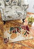Boho Bereich Teppiche Retro Floral-memorecool Haustierhaus Home Living Mats schützenden dekorativen Teppiche 150,8x 78,7cm, Polypropylen, Color5, 20inch*31inch