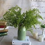 GSYLOL Real Touch Gefühl Fern Leaf Bunch Künstliche Farn Immergrüne Pflanzen HomeHochzeit Dekorative Blumen