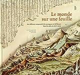 Le monde sur une feuille - Les tableaux comparatifs de montagnes et de fleuves dans les atlas du XIXe siècle