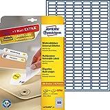 Avery Zweckform L4731REV-25 Etiketten (A4, 4725 Plus 945 Universal-Etiketten extra, ablösbar, 25,4 x 10 mm) 30 Blatt, weiß