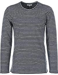 Nowadays Reverse Striped Sweater