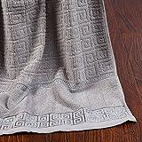 MZMZ-Engrosamiento aumenta la toalla Jacquard de Algodón,1,70×140cm.