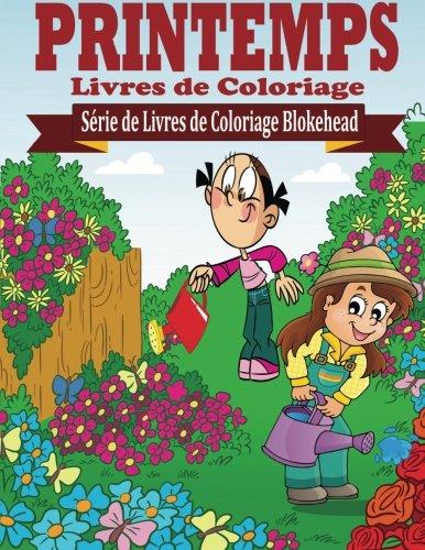 Printemps Livres de Coloriage