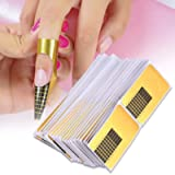 Nail Art Extension Guide Forms Sticker Nail Forms Extension Guide Self-adhesive Tips Sculpting Guide Stickers Salon…