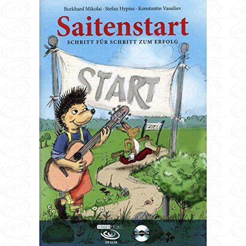Cuerdas Start–Paso Para Paso del Éxito–Arreglados para guitarra–con CD [de la fragancia/Alemán] Compositor: Miko Lai Burkhard
