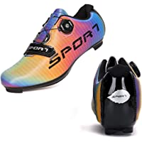 SEYMEZLIWE Men's Cycling Shoes Women's Road Bike Shoes Compatible with SPD/SPD-SL Cleats for Women Indoor Exercise…
