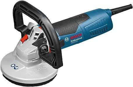 Bosch Professional Ponceuse à béton Filaire GBR 15 CA (1500 W, 9300 tr/min, Ø Meule assiette 125mm)