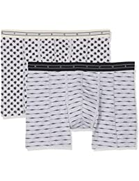 Scotch & Soda Men's Grey Boxer Shorts pack of 2