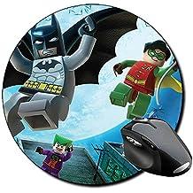 Alfombrilla para PC redonda de Batman en su peli de Lego