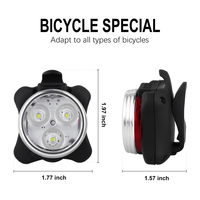 Usb Rechargeable Bike Lights Best Bike Lights Read Review